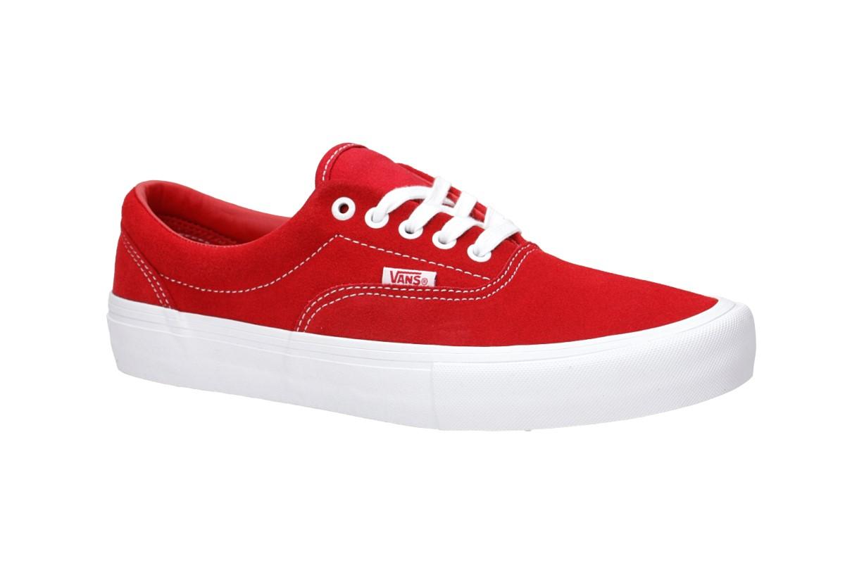 Vans Era Pro Suede Schuh (red white)