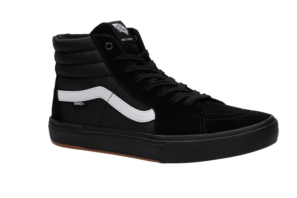 Vans Sk8 Hi Pro BMX Schuh (black white)