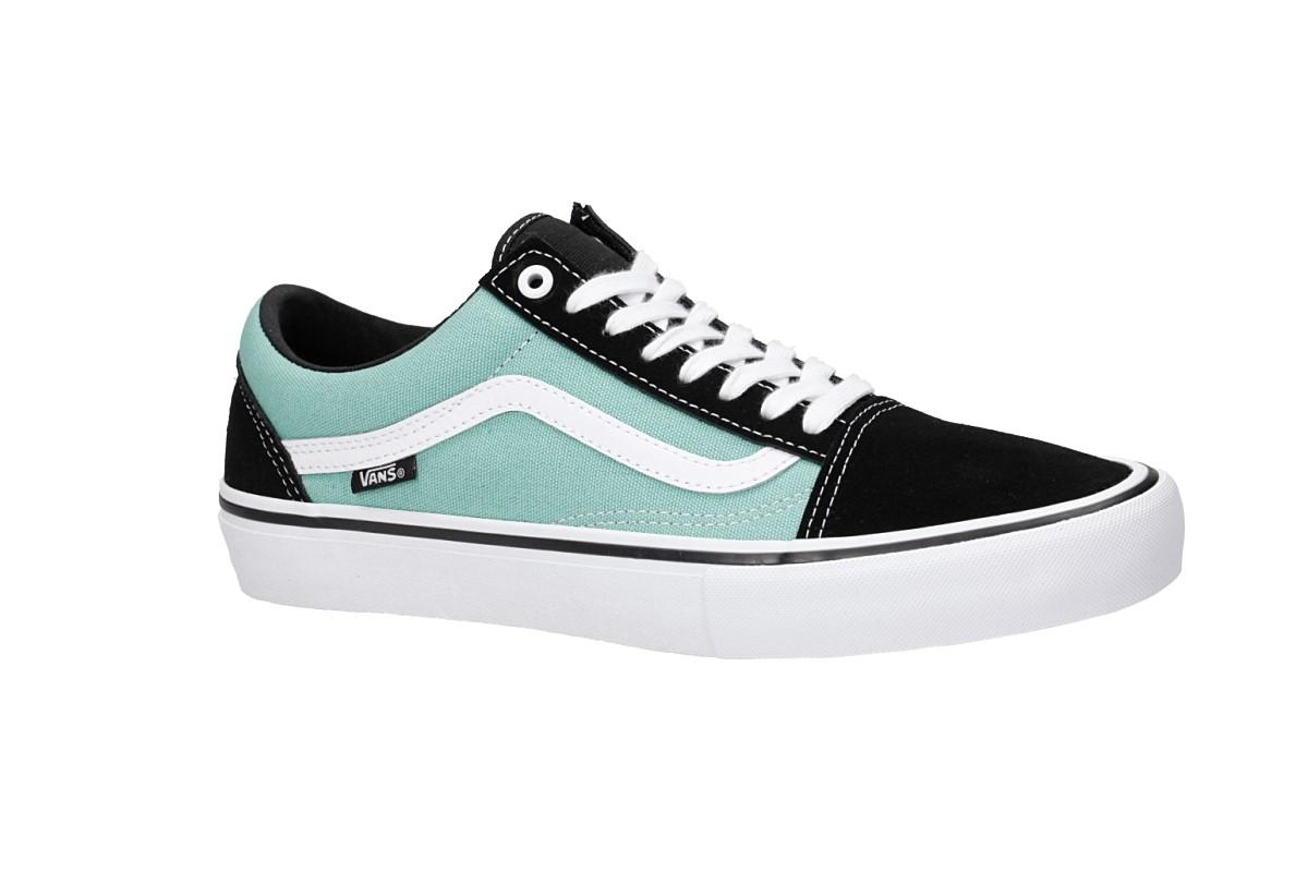 Vans Old Skool Pro Shoes (black jade)