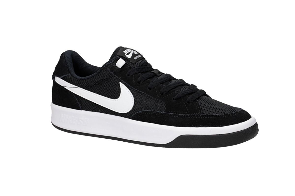 Nike SB Adversary Shoes (black white)