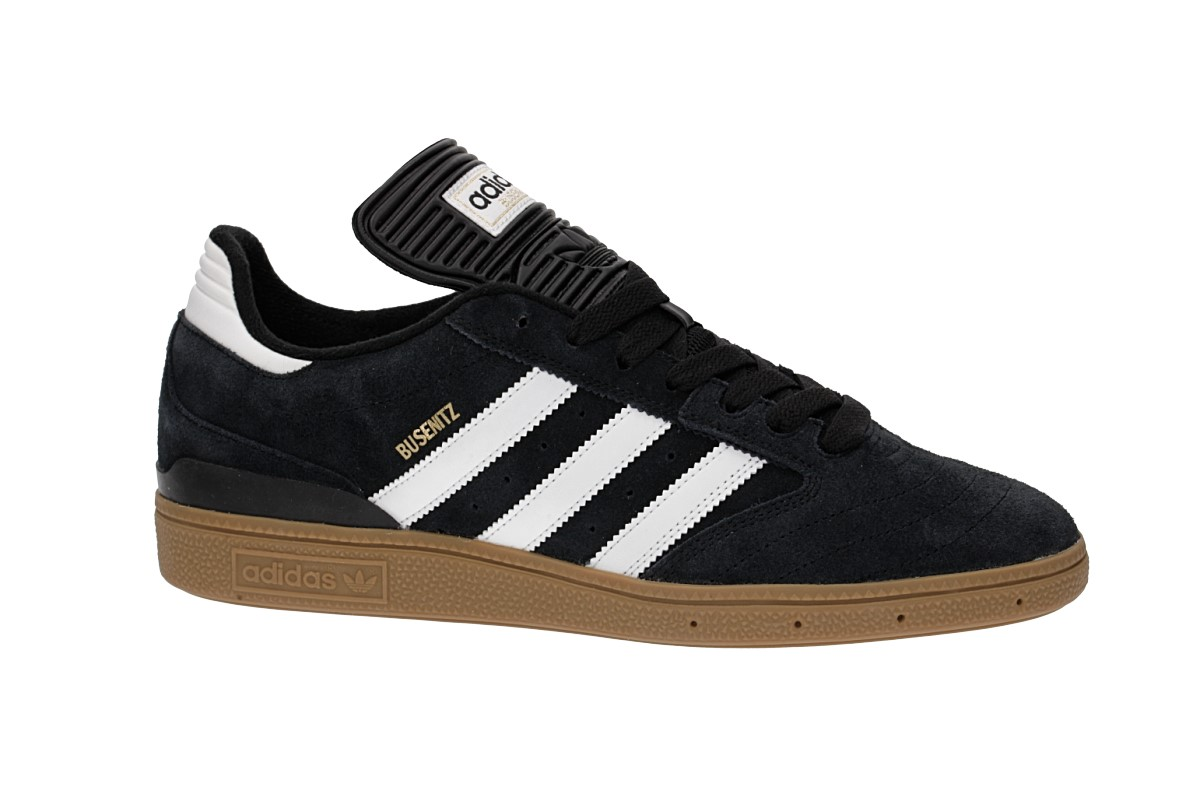 adidas Skateboarding Busenitz Schuh (black white metallic gold)