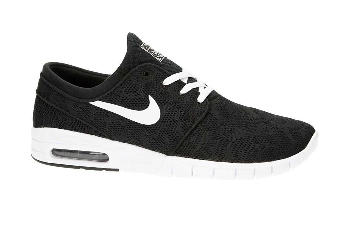 Nike SB Stefan Janoski Max Shoes (black white)