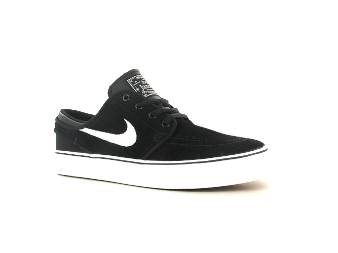 Nike SB Stefan Janoski Schoen kids (black white gum medium brown)