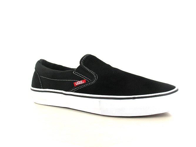 7fe2438864 Vans Slip-On Pro Suede Shoes (black white gum) buy at skatedeluxe