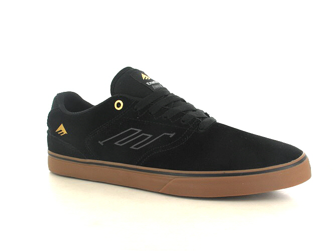 Emerica The Reynolds Low Vulc Zapatilla (black gum)
