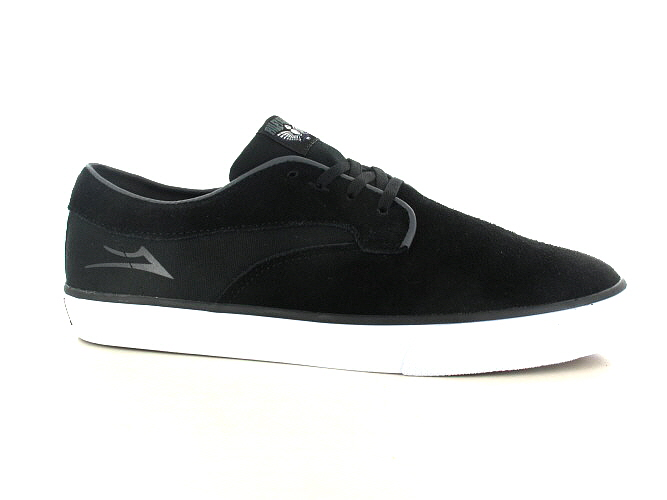 Lakai Riley Hawk Suede Shoes (black)
