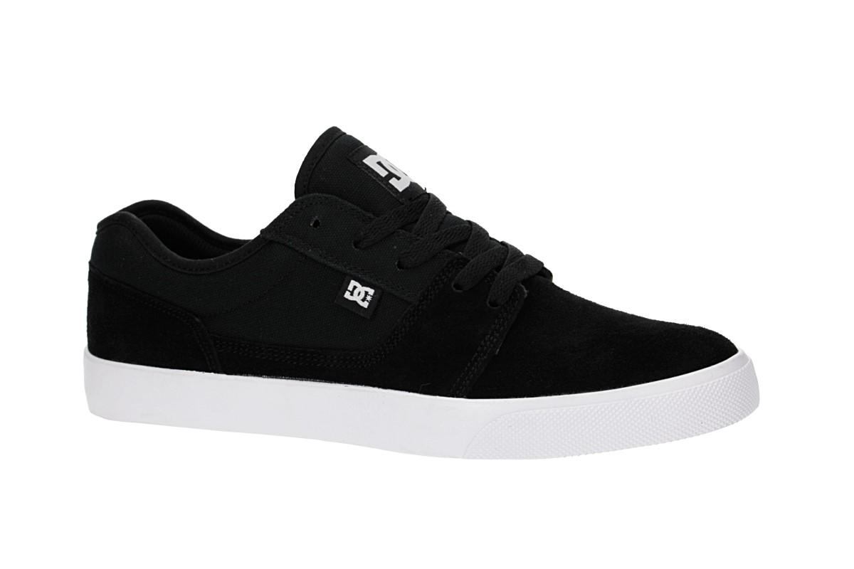 DC Tonik Suede Schuh (black white black)