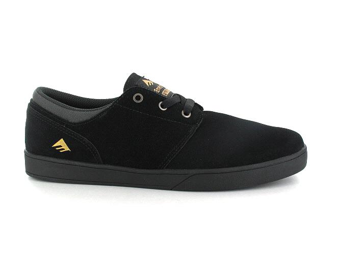 Emerica The Figueroa Suede Shoes (black black)