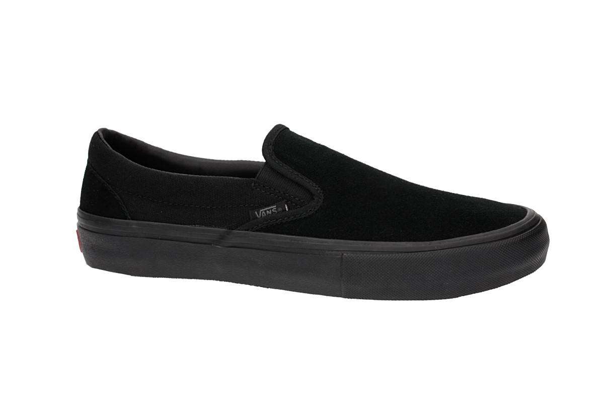 5838c65d026b Vans Slip On Pro Shoes (blackout) buy at skatedeluxe