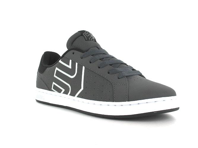 Etnies Fader LS Schoen (dark grey black white)
