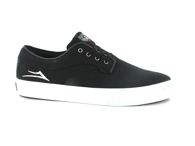 Lakai Riley Hawk Canvas Shoes (black)