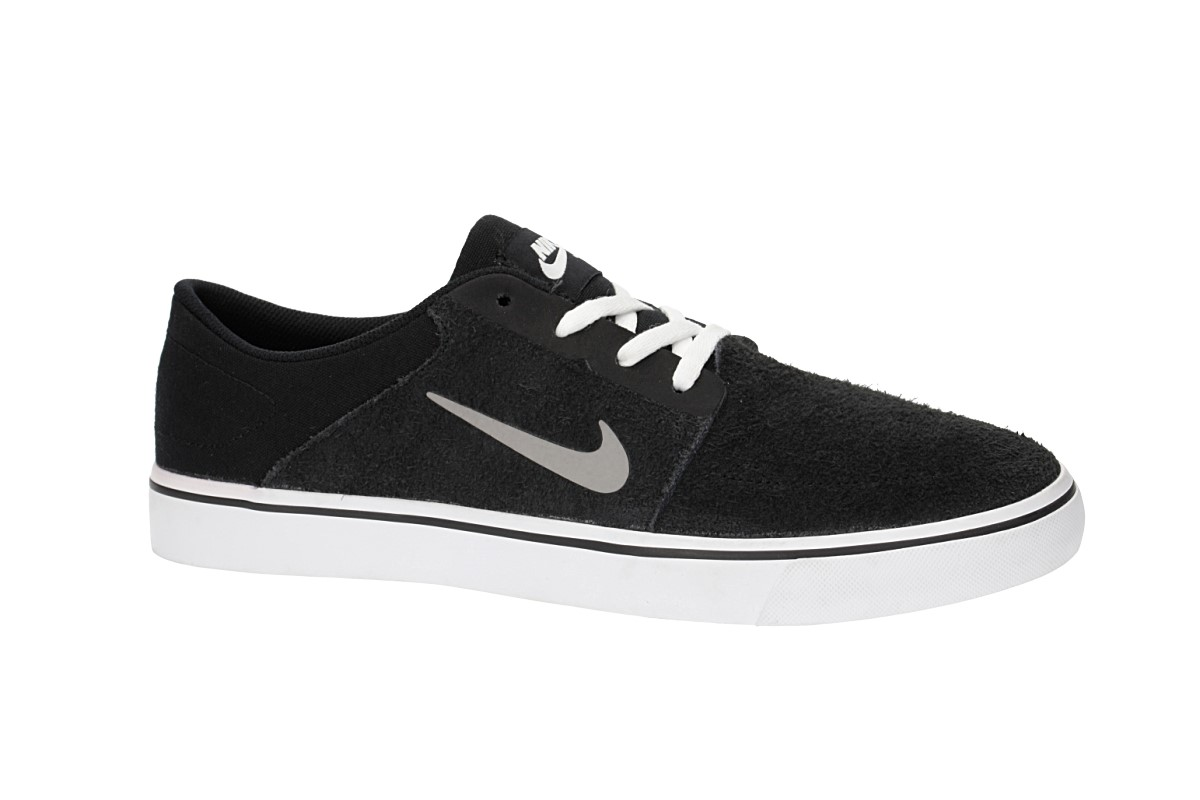 Nike SB Portmore Schuh (black white medium grey)
