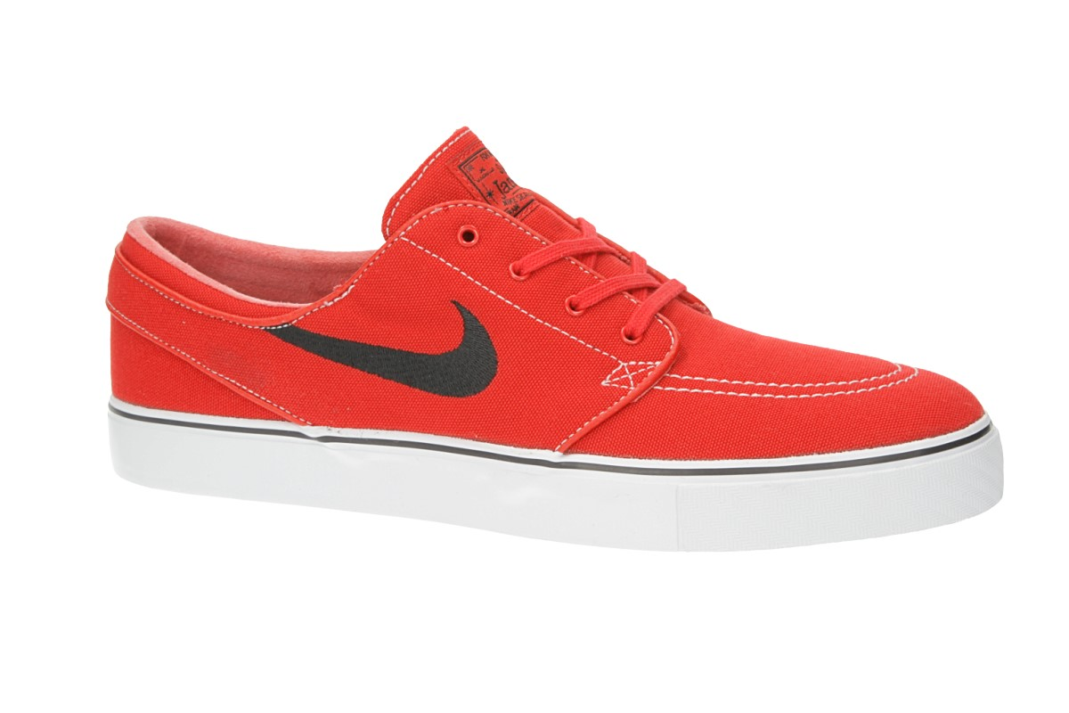 Nike SB Zoom Stefan Janoski Canvas Chaussure (university red black)
