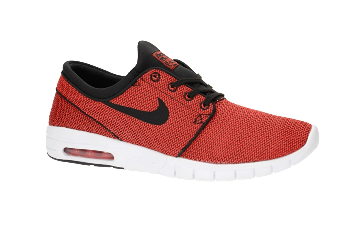 Nike SB Stefan Janoski Max Shoes (black max orange) buy at skatedeluxe 698641325