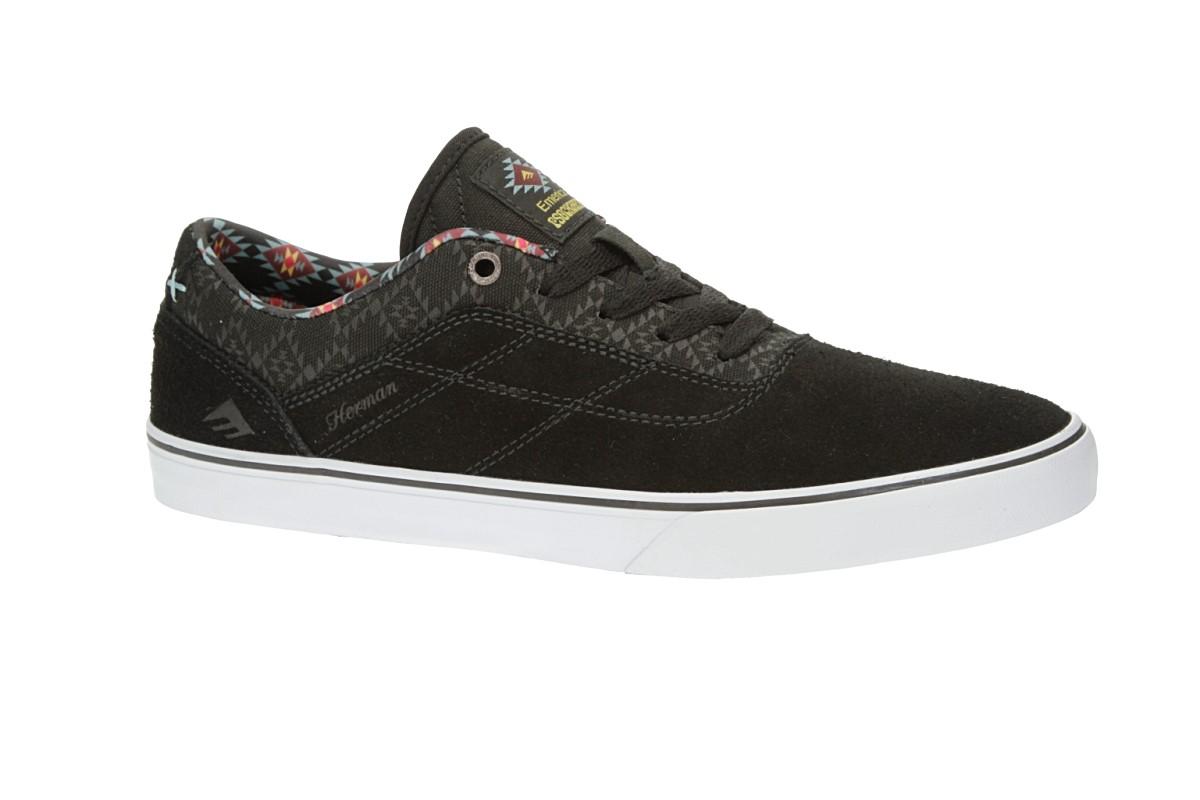 Emerica x Psockadelic The Herman G6 Shoes (black print)