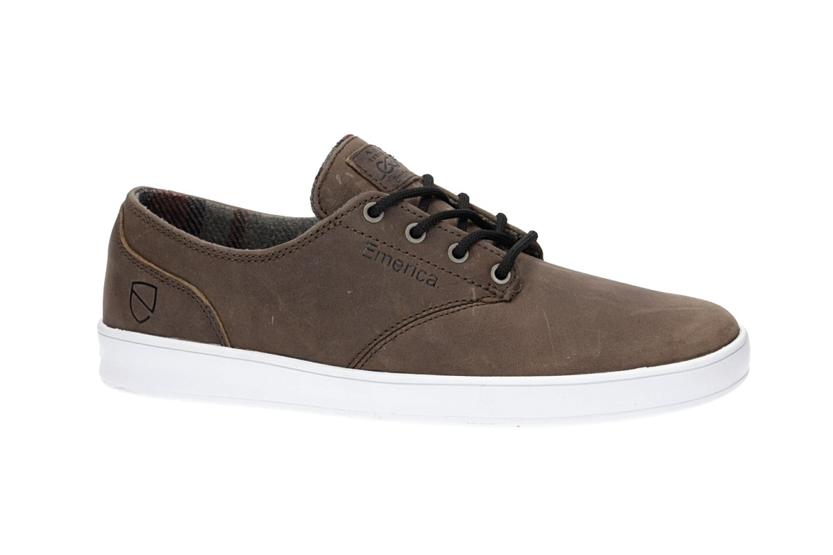 Emerica x Eswic The Romero Laced Scarpa (brown white)