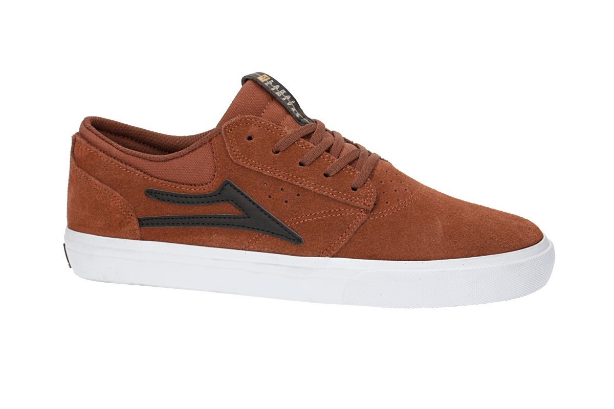 Lakai Griffin Suede Shoes (copper)