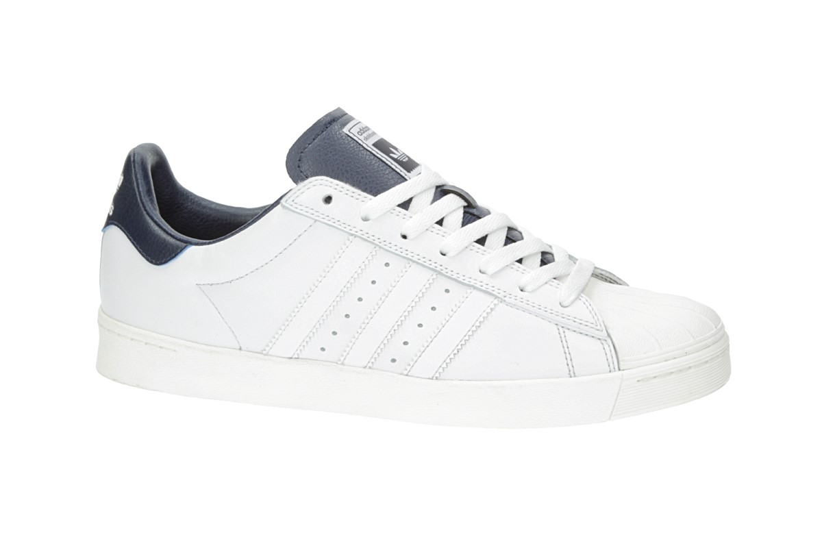 adidas Superstar Vulc ADV SNEAKERS Crystal White/ Collegiate