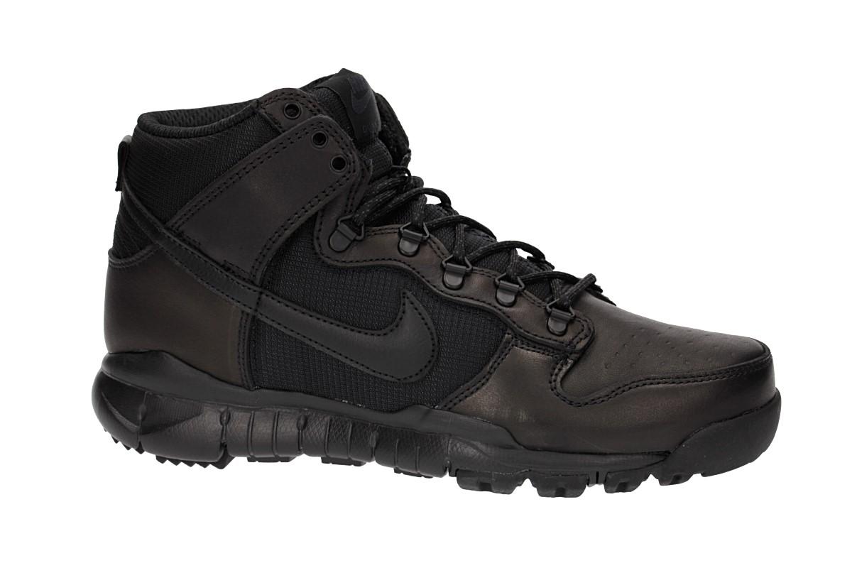 Nike SB Dunk High Boot Shoes (black black)