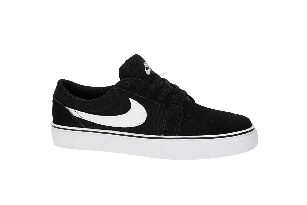 Nike SB Satire II Schuh kids (black white)