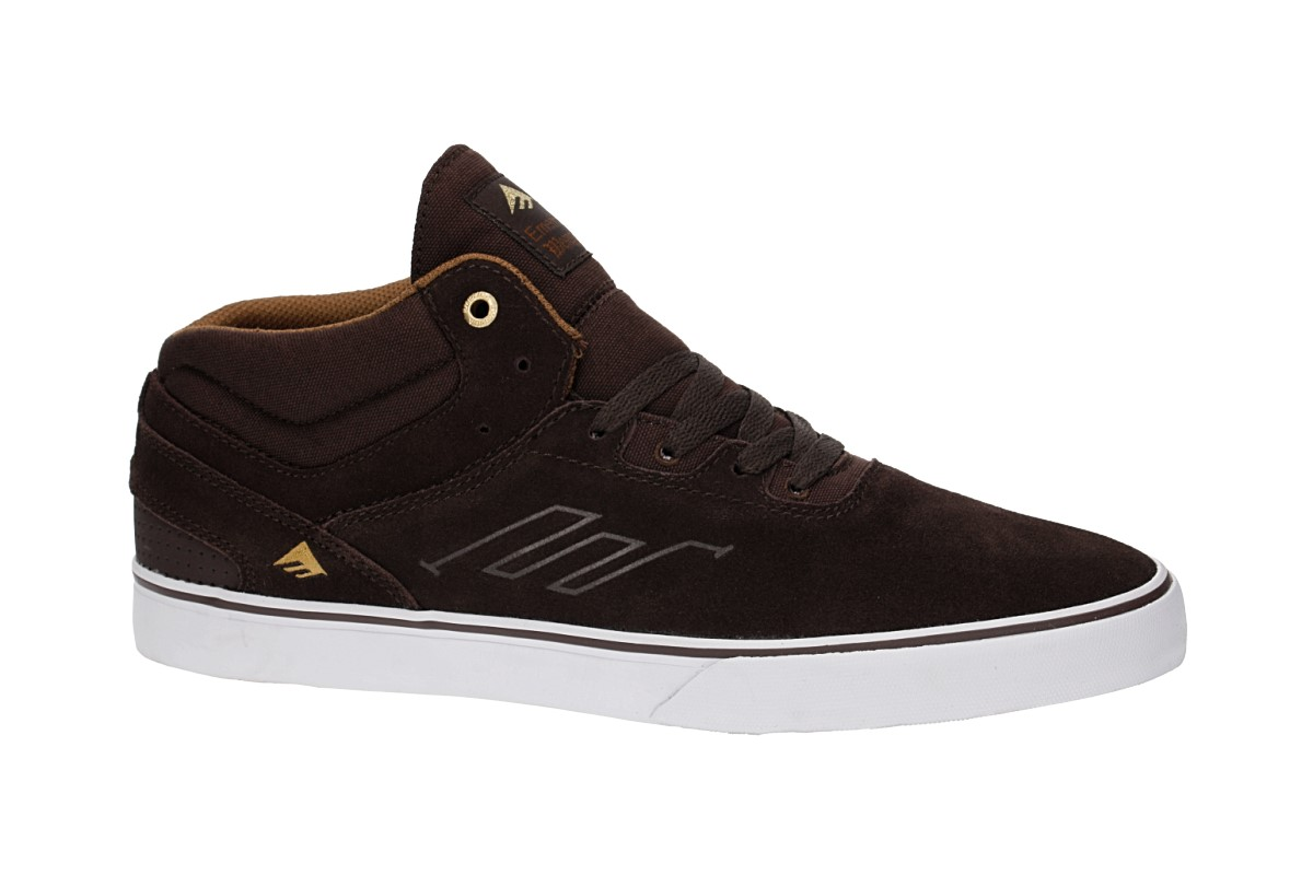 Emerica Westgate Mid Vulc Chaussure (dark brown)