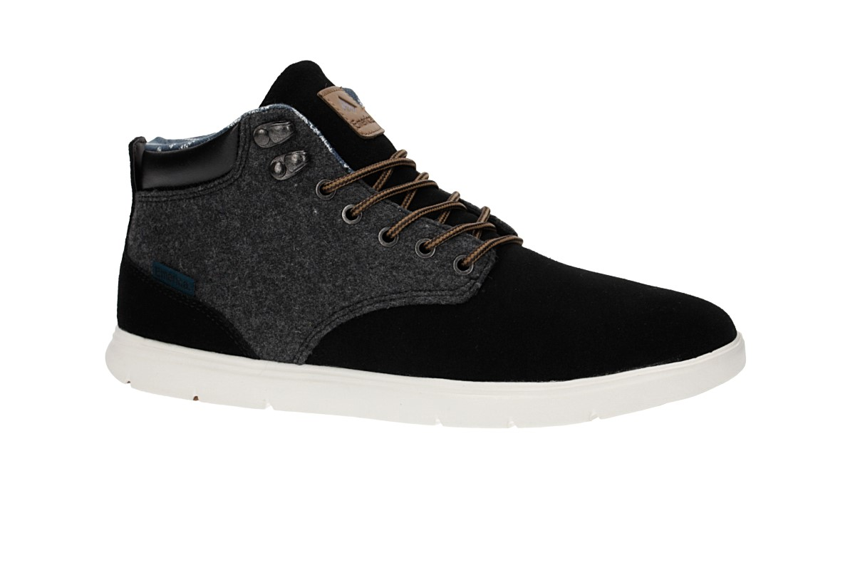 Emerica Wino Cruiser HLT Schuh (black white yellow)
