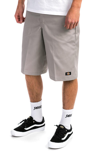 687a8edd48 Dickies Multi Pocket Work Shorts (silver grey) buy at skatedeluxe