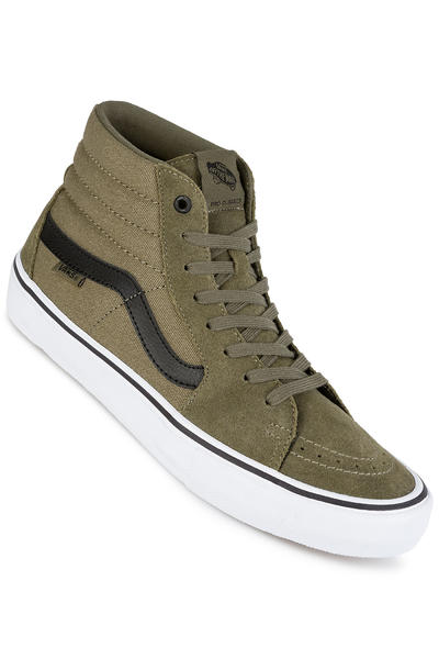 Vans Sk8-Hi Pro Shoes (burnt olive black) buy at skatedeluxe 9797eb778
