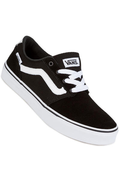 f0c87093263 Vans Chapman Stripe Shoes kids (black white) buy at skatedeluxe
