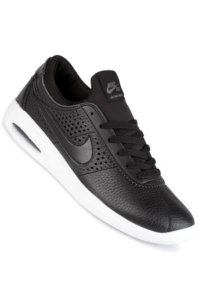 Nike SB Air Max Bruin Vapor Leather Schoen (black black dark grey)