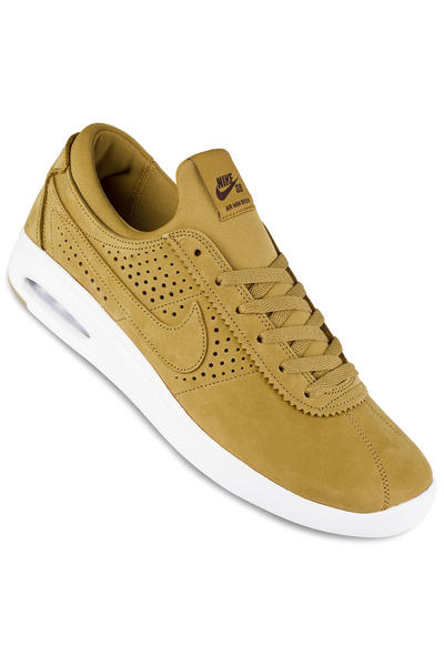 best sneakers e00fc 16ac3 Nike SB Air Max Bruin Vapor Leather Shoes (wheat baroque brown) buy at  skatedeluxe