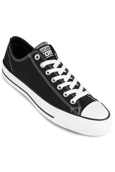 Converse CONS Chuck Taylor All Star Pro Ox Shoes (black black white white)