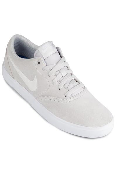61a896b3476d Nike SB Check Solarsoft Shoes (vast grey white) buy at skatedeluxe