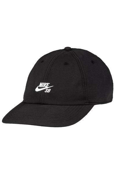 544613919d729 Nike SB Dri-Heritage 86 Flat Strapback Cap (black white) buy at skatedeluxe