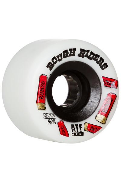 Bones Wheels Skateboard Wheels 100S Og #1 V5 100A White 53mm Rollen