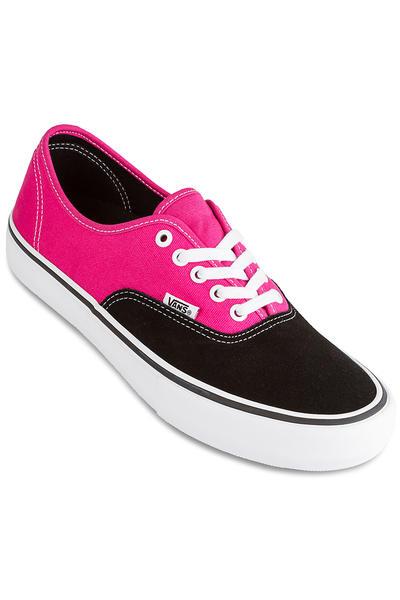 Vans Authentic Pro Shoes (black magenta