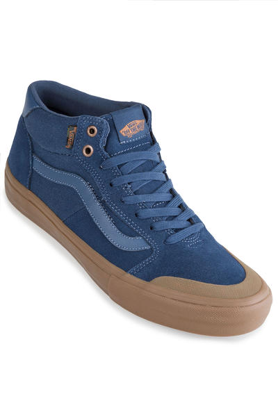 13fa3a18a5 Vans Style 112 Mid Pro Shoes (camouflage dark denim gum) buy at skatedeluxe