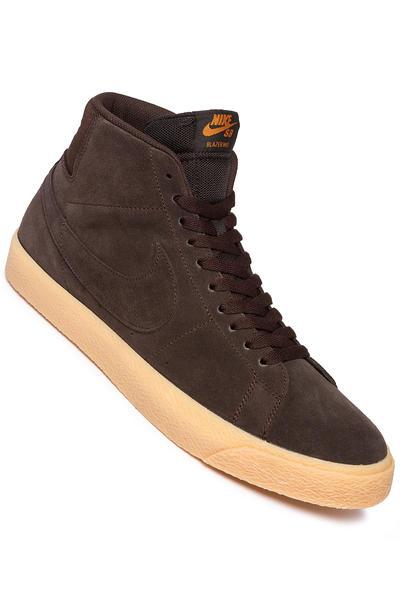 Nike SB Zoom Blazer Mid Shoes (velvet brown) buy at skatedeluxe a969d90b7