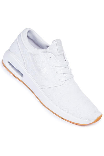 Nike SB Air Max Janoski 2 Shoes (white gum yellow)