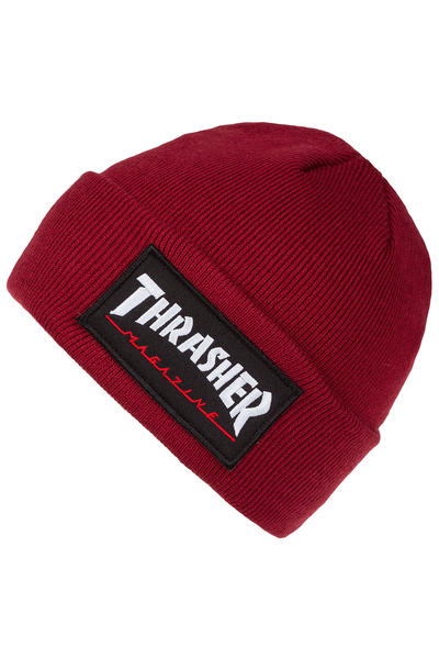 14a51ba21d9 Thrasher Patch Beanie (maroon) buy at skatedeluxe