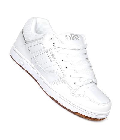 DVS Enduro 125 Shoes White//Gum//Reflective//Nubuck-UK 8