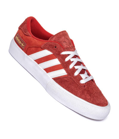 adidas Skateboarding Matchbreak Super Shoes (red white gold mint)