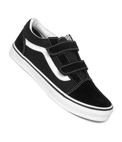 Vans Old Skool V Shoes kids (black true white)
