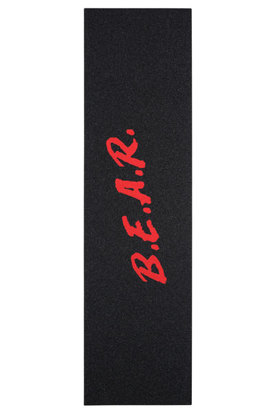 Grizzly Grip Tape Dare Bear Black//Red Griptape 9 x 33