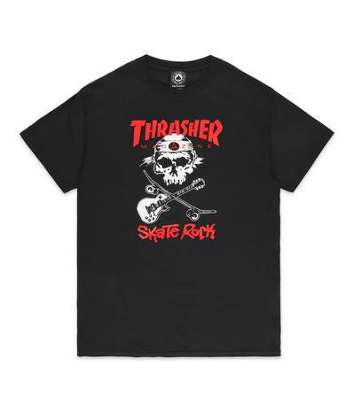 60dfab00f437 Thrasher Sk8-Rock T-Shirt (black) buy at skatedeluxe