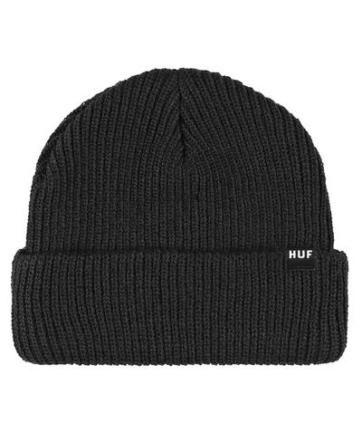c629c0ee40608d HUF Usual Beanie (black) buy at skatedeluxe