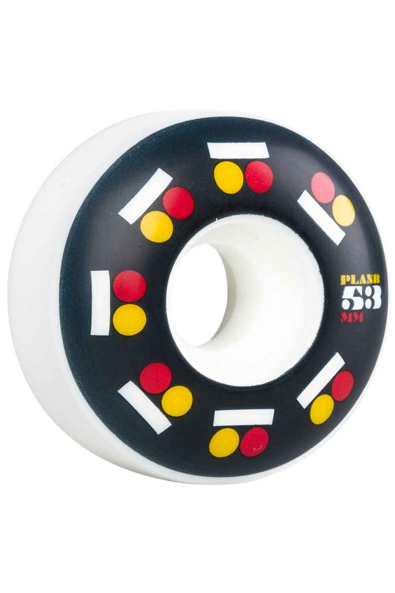 Plan B Icon Wheels 53mm 95A 4 Pack