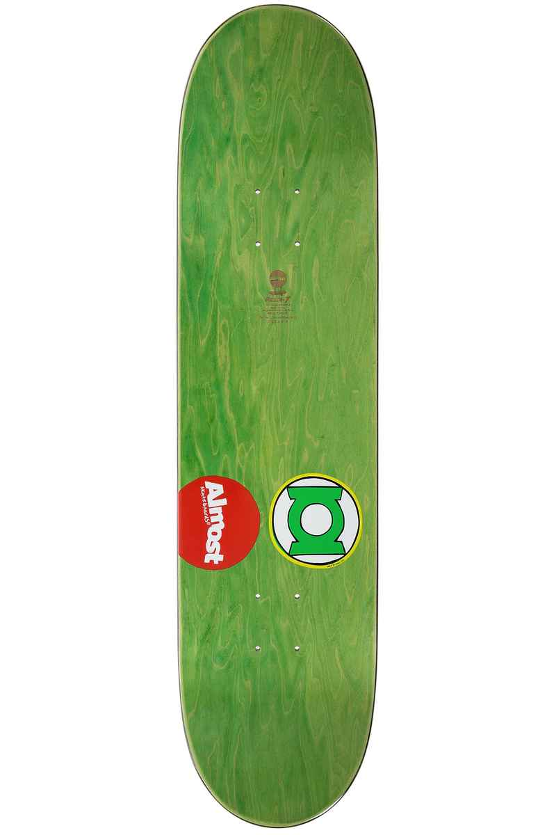 "Almost Amrani Sketchy Green Lantern 8.125"" Tabla (multi)"