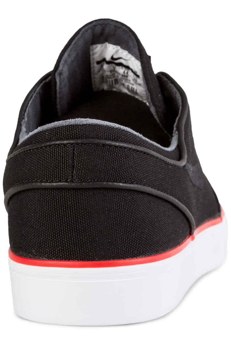 Nike SB Zoom Stefan Janoski Canvas Schuh (black max orange)