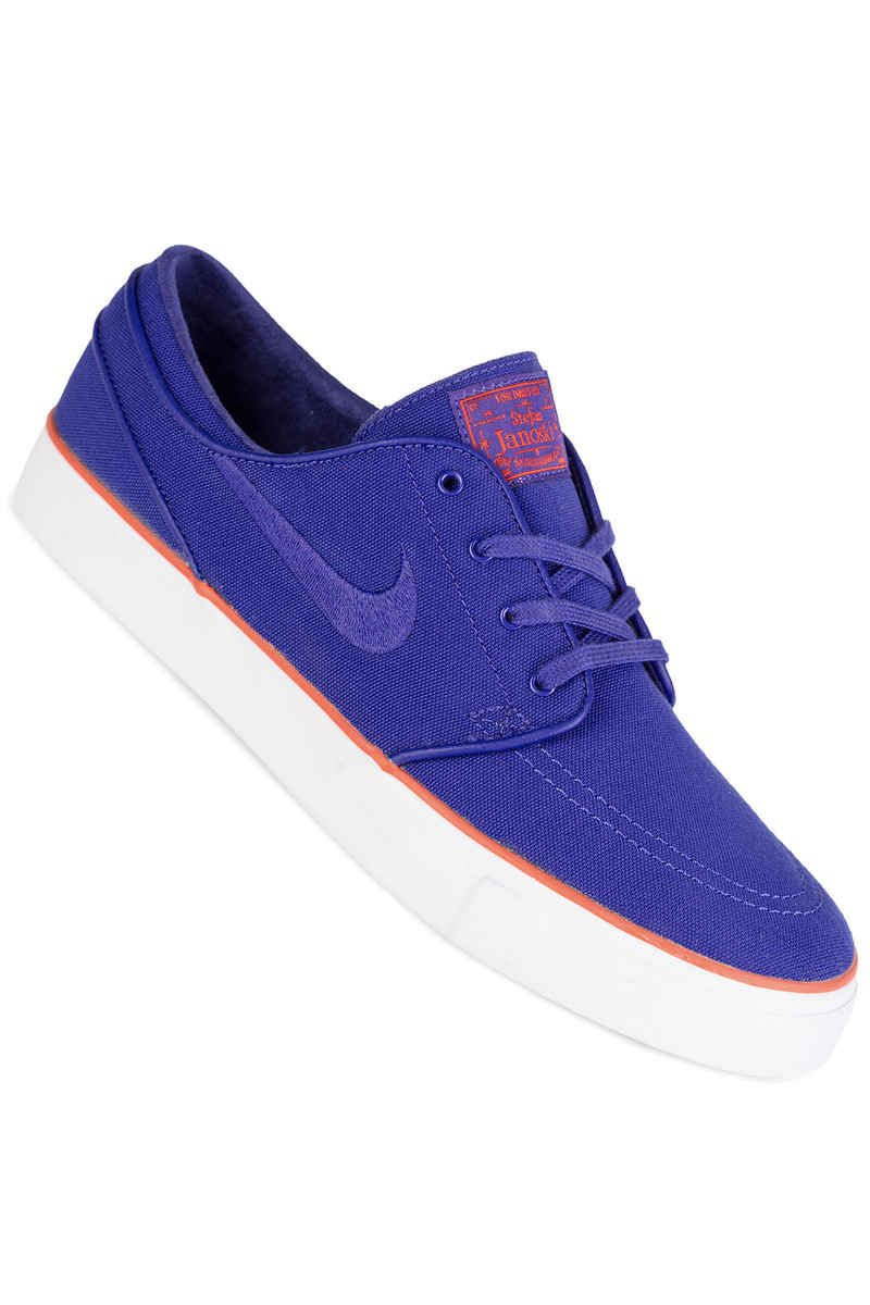 Nike SB Zoom Stefan Janoski Canvas Chaussure (deep night max orange)